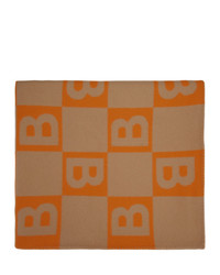 Écharpe orange Burberry