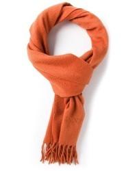 Écharpe orange Lanvin
