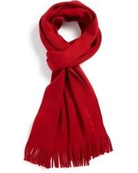 Écharpe rouge