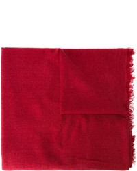 Écharpe rouge Ann Demeulemeester