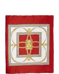 Écharpe rouge Burberry