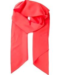 Écharpe rouge Lanvin
