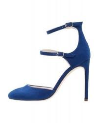 Escarpins bleus marine Even&Odd