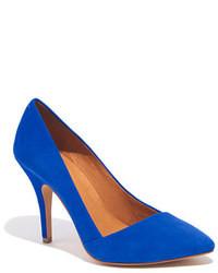 Escarpins bleus original 1630095