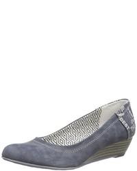 Escarpins bleus s.Oliver
