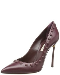 Escarpins bordeaux Casadei