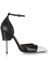 Escarpins en cuir blancs et noirs Givenchy