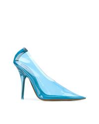 Escarpins en cuir bleu clair Yeezy