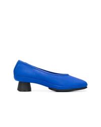 Escarpins en cuir bleus Camper