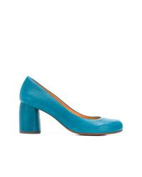 Escarpins en cuir bleus Chie Mihara