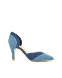 Escarpins en cuir bleus GUILD PRIME