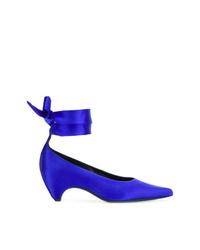 Escarpins en cuir bleus Stella McCartney