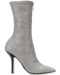 Escarpins en cuir gris Stella McCartney