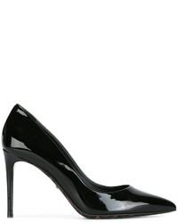 Escarpins en cuir noirs Dolce & Gabbana