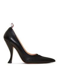 Escarpins en cuir noirs Thom Browne