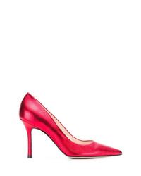 Escarpins en cuir rouges Marc Ellis