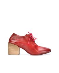 Escarpins en cuir rouges Marsèll