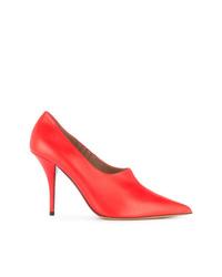 Escarpins en cuir rouges Tabitha Simmons