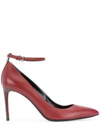 Escarpins en cuir rouges Tom Ford
