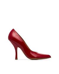 Escarpins en cuir rouges Y/Project