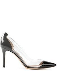 Escarpins en cuir transparents Gianvito Rossi