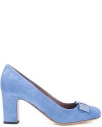 Escarpins en daim bleu clair Tabitha Simmons