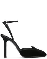 Escarpins en daim noirs Giuseppe Zanotti Design