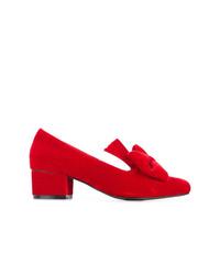 Escarpins en velours rouges