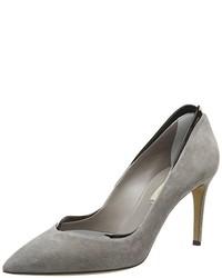 Escarpins gris Casadei