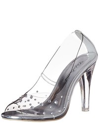 Escarpins gris Pleaser