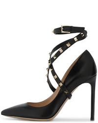 Escarpins noirs Valentino