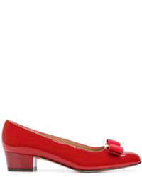 Escarpins rouges Salvatore Ferragamo