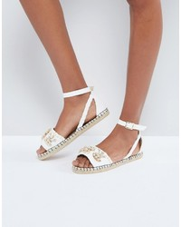Espadrilles blanches Miss Selfridge