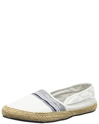 Espadrilles blanches Pepe Jeans