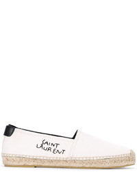 Espadrilles blanches Saint Laurent