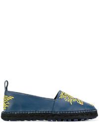 Espadrilles bleues Kenzo