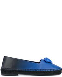 Espadrilles bleues Versace