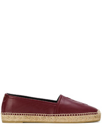 Espadrilles bordeaux Saint Laurent