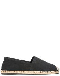 Espadrilles en cuir noires Valentino Garavani