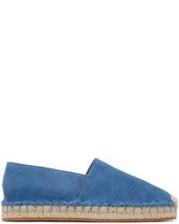 Espadrilles en daim bleues Valentino