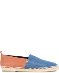 Espadrilles en denim bleues Loewe