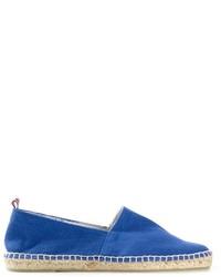 Espadrilles en toile bleues