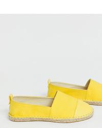 Espadrilles jaunes ASOS DESIGN