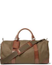 Fourre-tout en toile brun Polo Ralph Lauren
