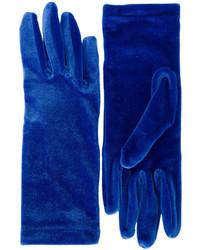 Gants bleu marine Balenciaga