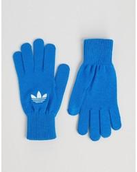 Gants bleus adidas