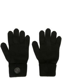 Gants en laine noirs DSQUARED2