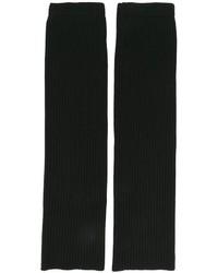 Gants en laine noirs Juun.J