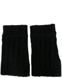 Gants en laine noirs Unconditional
