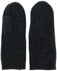 Gants gris foncé Isabel Marant